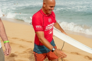 He Wants to Surf in the Olympics at 48. His Neighbor Is in the Way.