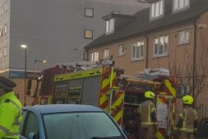 Over a hundred firefighters bring Brentford Travelodge blaze under contr