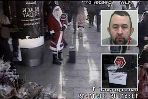 Paedophile in Santa Claus costume jailed for Christmas