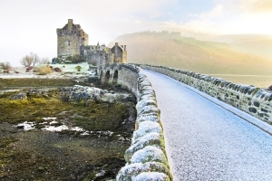 'Risk of snow' for parts of Scotland next week as Met Office warns of frost and freezing fog
