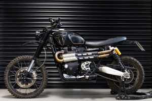Triumph Tiger and Scrambler star in 'No Time To Die' Bond movie