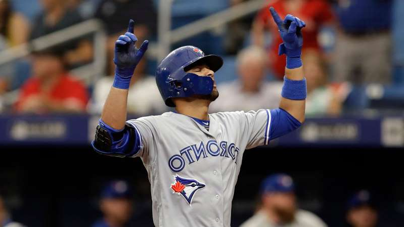 a baseball player holding a bat: blue-jays-gurriel-jr