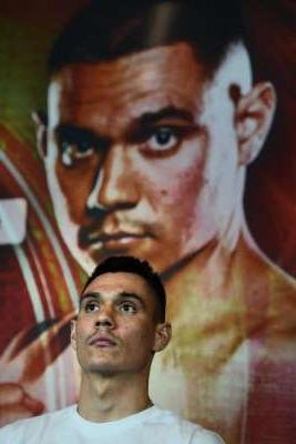 a man looking at the camera: All about respect: Tim Tszyu.