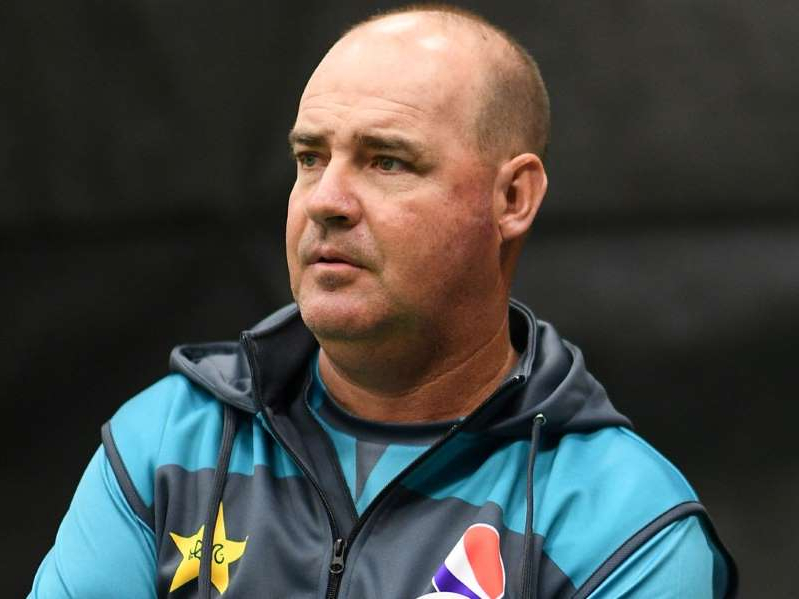 Mickey Arthur looking at the camera: Mickey Arthur left his role as Pakistan head coach after this summer's World Cup