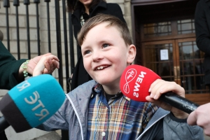 'I'm so proud, I can walk, talk and dance' – boy with cerebral palsy gets €3.6m