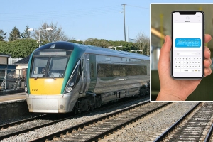 'Man asleep and smells' — Some of the alerts received by Irish Rail's text system have been revealed
