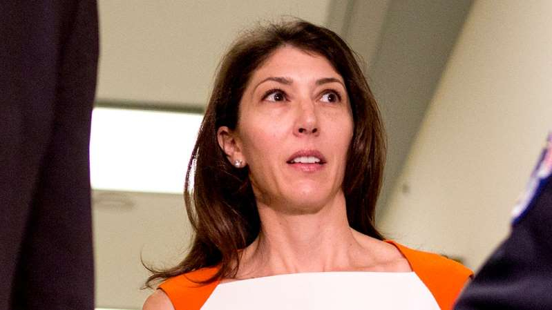 a person wearing a black shirt: Lisa Page sues DOJ, FBI over alleged privacy violations