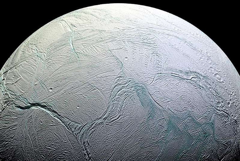 a close up of a stone wall: enceladus