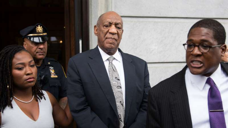 Bill Cosby wearing a suit and tie: Court upholds sexual assault conviction of Bill Cosby