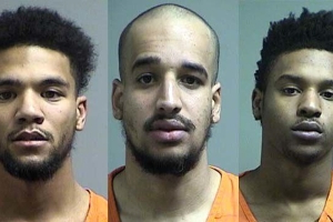 Trio charged in St. Charles rolling gun battle that started with shoe sale