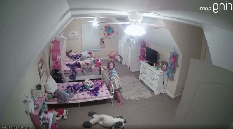 A copy of a Ring camera video taken at the LeMay family home in Nesbit, Miss., on Dec. 4