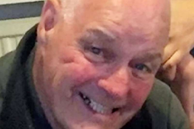 a man with his mouth open: Tony McCorry was rushed to hospital but died a short time later at around 3.45am on Wednesday