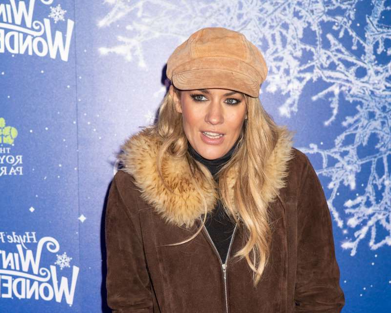 LONDON, ENGLAND - NOVEMBER 20: Caroline Flack attends the launch of Hyde Park Winter Wonderland 2019 on November 20, 2019 in London, England.
