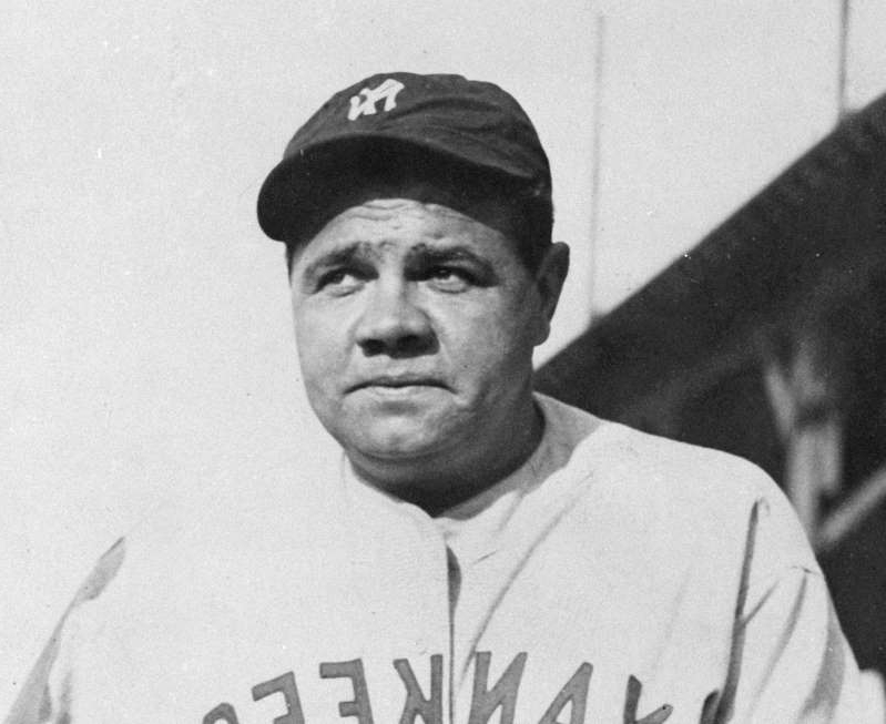 This undated file photo shows Babe Ruth.