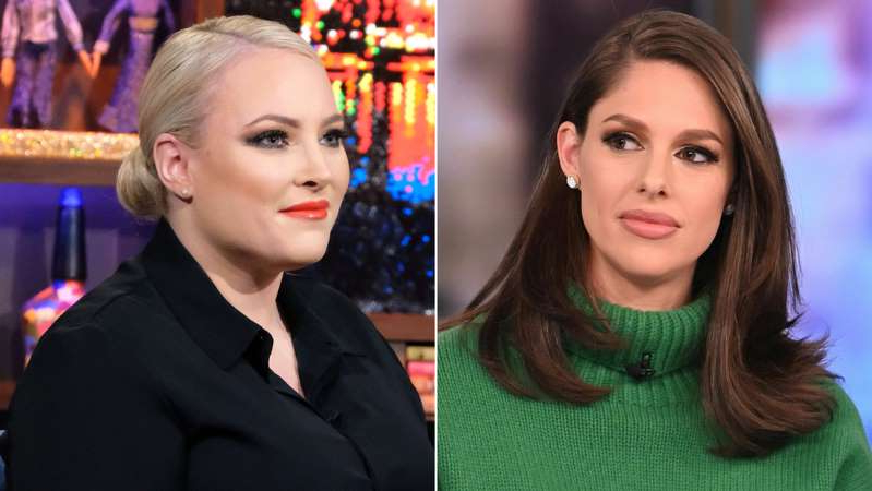 Abby Huntsman, Meghan McCain are posing for a picture