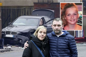 Parents of girl killed by BMW given restraining order to stop them 'harassing' driver who fainted at wheel