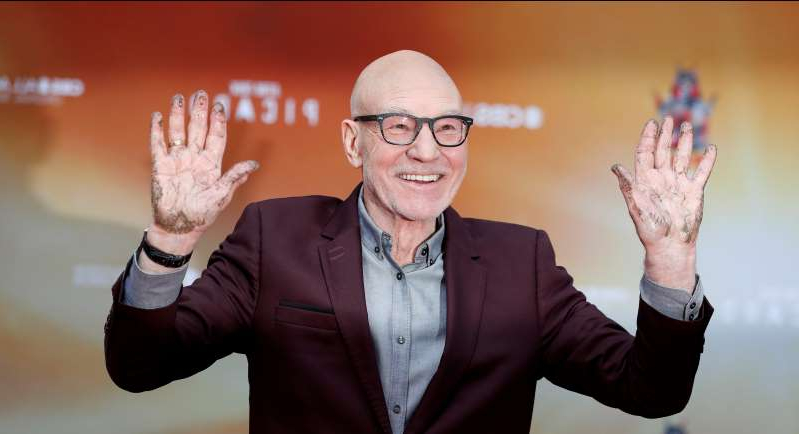 Patrick Stewart cements place in Hollywood