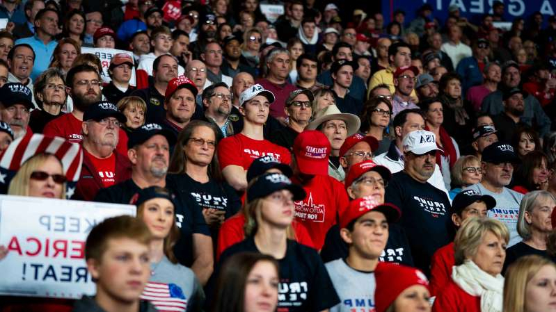 Supporters at President Trump's campaign rally in Toledo said the president delivered a victory in the trade war with China.