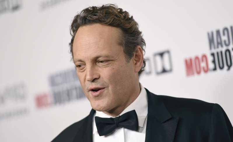 Vince Vaughn wearing a suit and tie