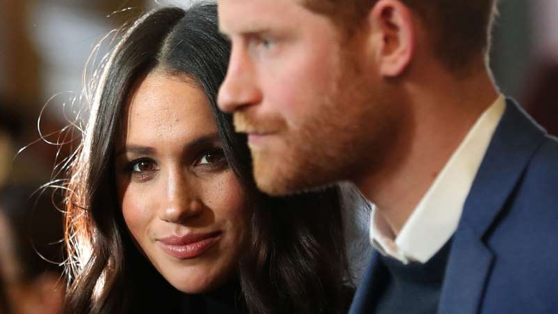 a close up of a person: Harry & Meghan: Soon at J.C. Penney?