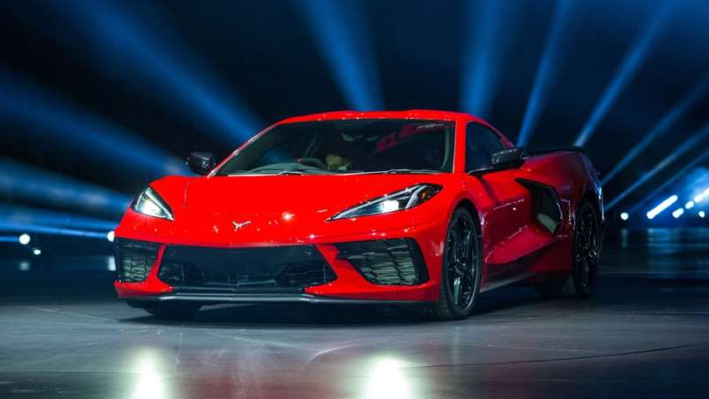 a red car: First Corvette $3million