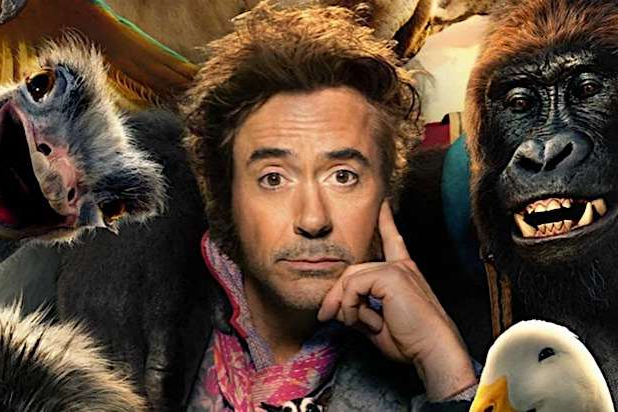 Robert Downey Jr. holding an animal: Dolittle Robert Downey Jr