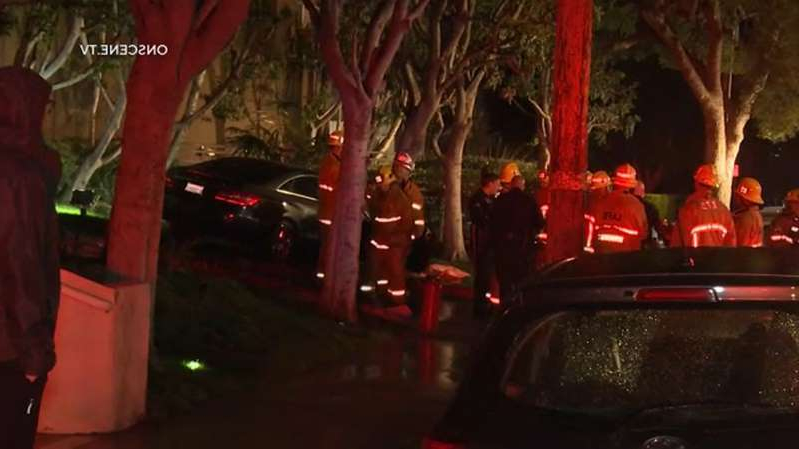 a christmas tree: 1 killed after road rage incident leads to crash in Hollywood