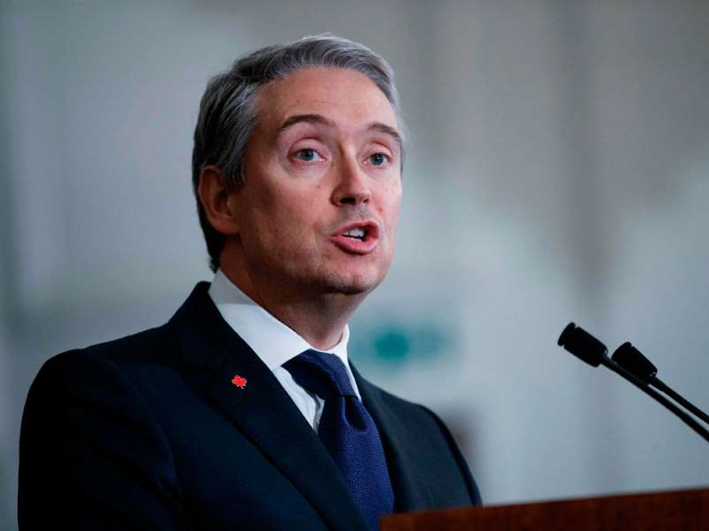 François-Philippe Champagne wearing a suit and tie: Growing frustrations over delays in the issuing of federal arms export permits has led to calls for Foreign Affairs Minister François-Philippe Champagne to rectify the situation.