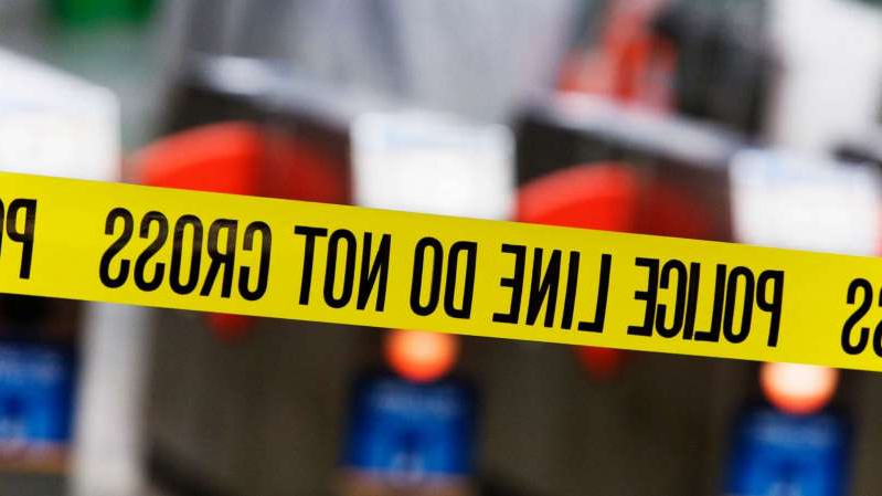 Police tape is pictured in this undated stock photo.