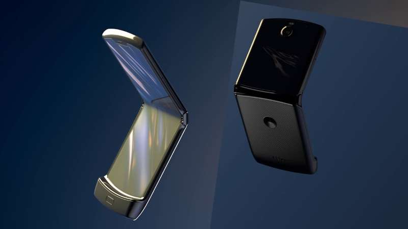 a close up of a phone: Pre-ordering has opened for Motorola's brand new Razr.