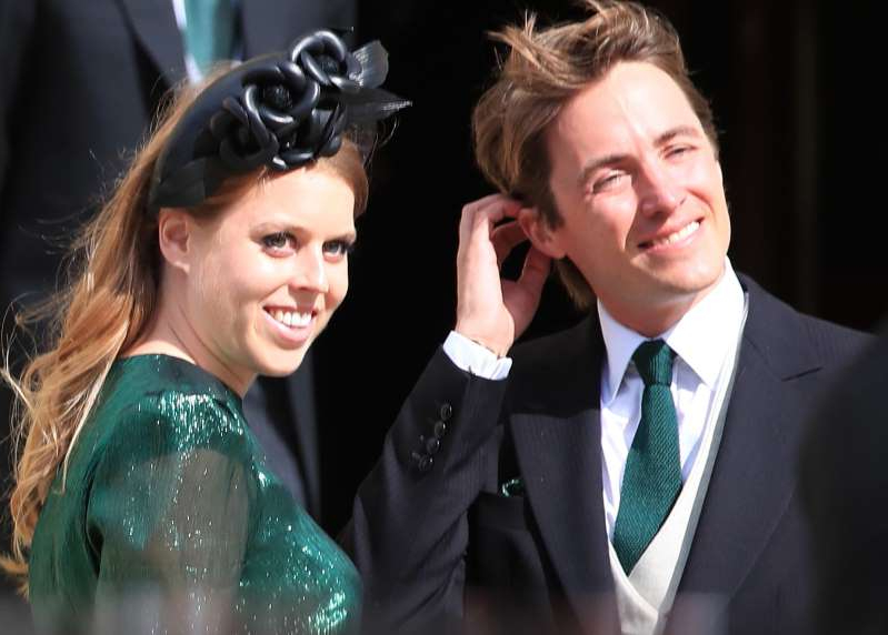 Princess Beatrice and fiance Edoardo Mapelli Mozzi.