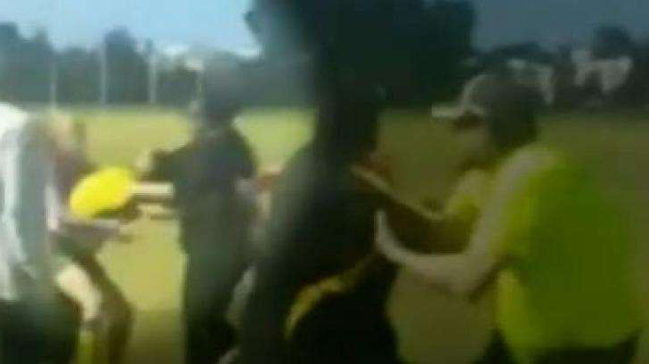 a blurry image of a person: Charmaine Judith Wright has been banned from football for life and fined more than $3000.