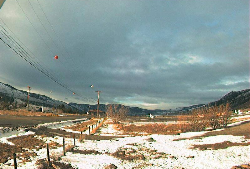 The view from the Merritt Airport is shown in this photo taken on January, 23, 2020.