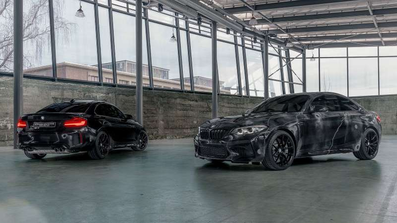 Dieses Lack-Design ist Absicht - BMW M2 Competition by Futura 2000