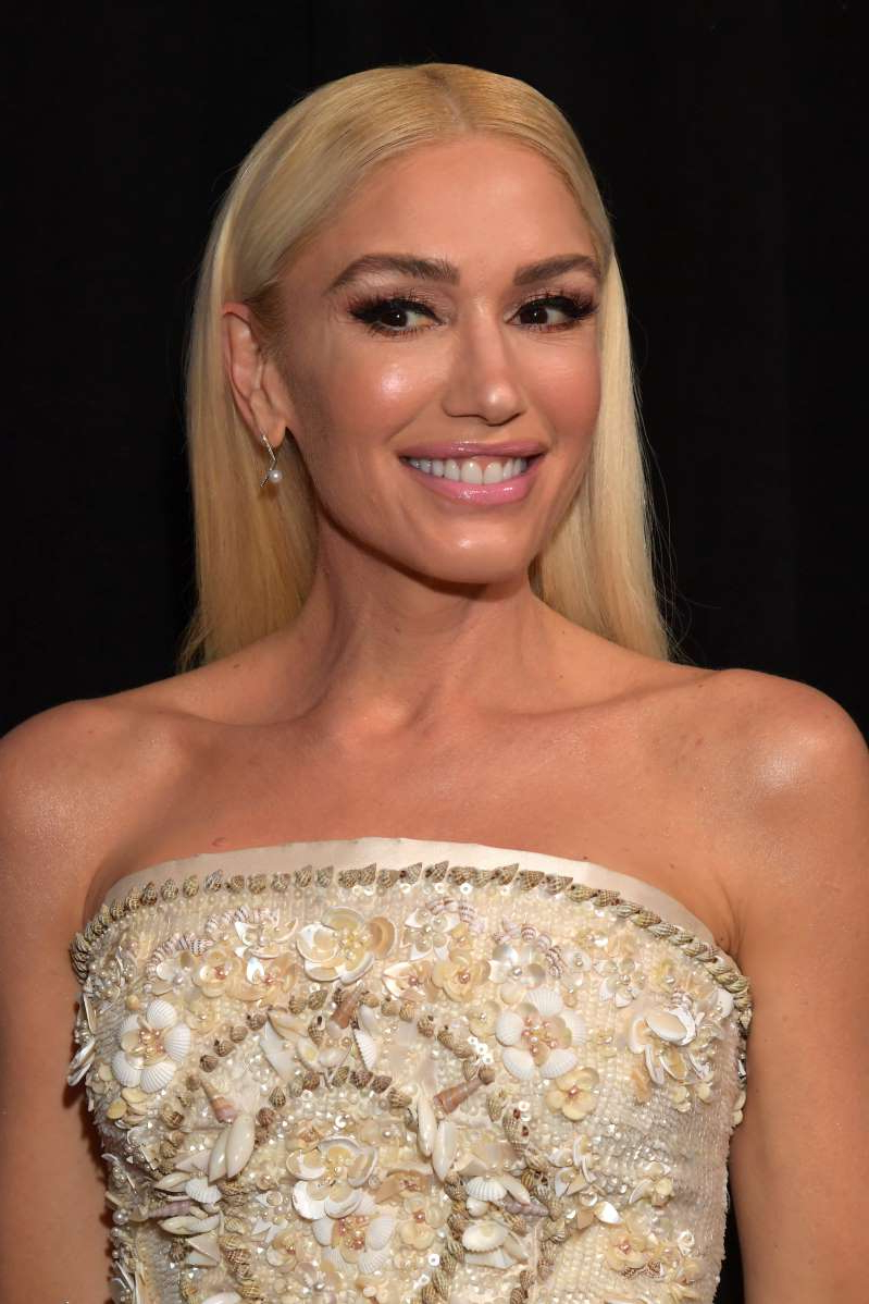 Gwen Stefani smiling for the camera: Gwen Stefani attends the 62nd Annual Grammy Awards at the Staples Center in Los Angeles on Jan. 26, 2020.