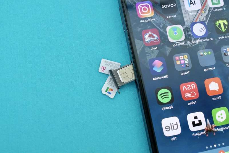 Plastic SIM cards will soon be a thing of the past. Jason Cipriani/CNET