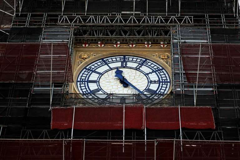 The renovations have meant Big Ben -- whose chimes feature on British television and radio news bulletins -- has been largely silent since 2017