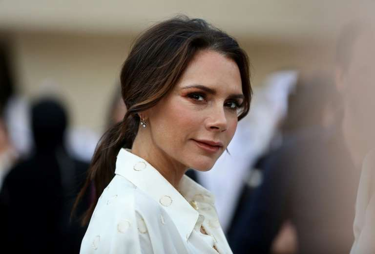 Victoria Beckham in a white shirt: Designers showing their collections at London Fashion week include Victoria Beckham and Vivienne Westwood
