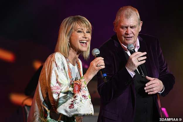A show to remember: John Farnham, 70, reunited with Olivia Newton-John, 71, at the Fire Fight Australia bushfire relief concert in Sydney on Sunday