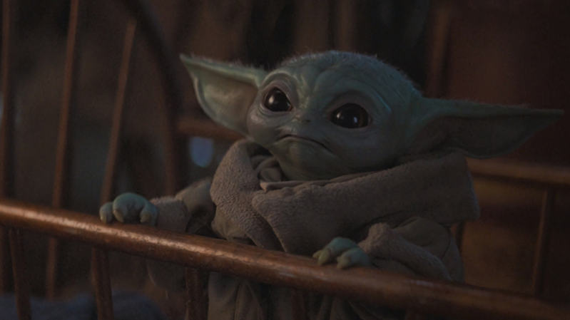a close up of a stuffed toy: You want me to wait *how* long? (Image: Lucasfilm)