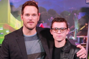 Tom Holland and Chris Pratt Talk