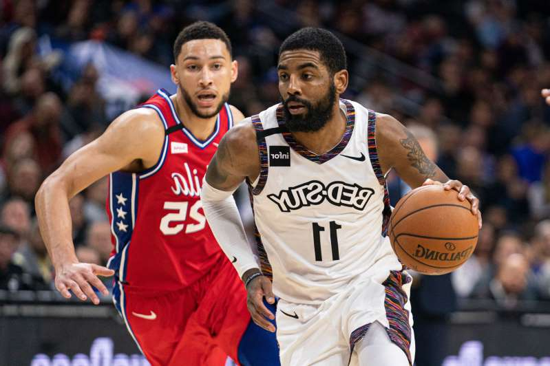 Kyrie Irving, Ben Simmons are posing for a picture: The Brooklyn Nets are hoping Kyrie Irving and Kevin Durant can return from their injuries.