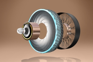 Goodyear reCharge concept tire can regrow tread by taking a pill