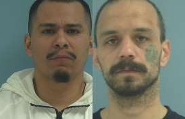 a man posing for the camera: Tyrone Adam Mulvaney (L) and Neftali Serrano are two of the inmates still on the loose after escaping from Yakima County Jail