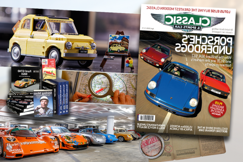 a group of items on top of a car: Classic & Sports Car – How to get your classic car fix during the coronavirus lockdown