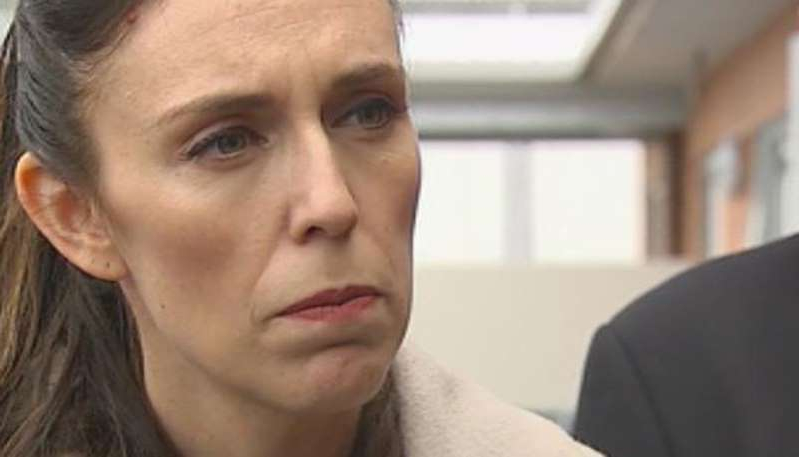 Jacinda Ardern posing for the camera: Watch Sunday's full press conference.