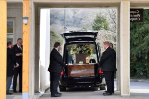 Wales rugby player Matthew J Watkins laid to rest in moving funeral only his family were allowed to attend