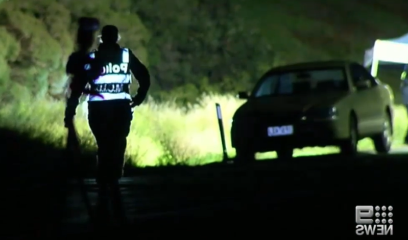 Police investigate alleged hit-run near Bacchus Marsh.