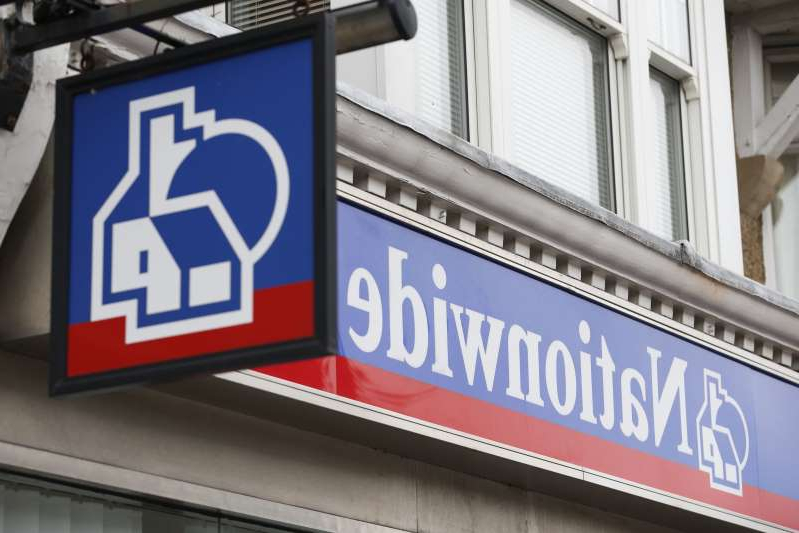 a sign on the side of a building: Nationwide Building Society has unveiled a five-point support package (PA)