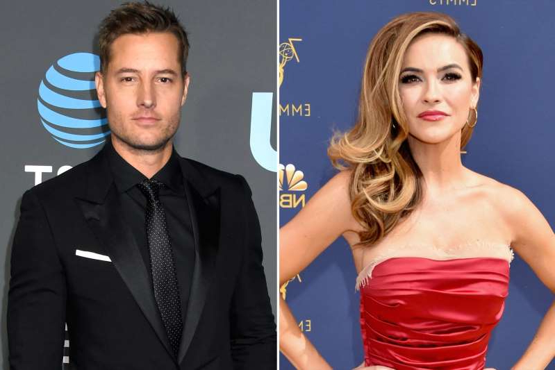 Chrishell Stause, Justin Hartley posing for the camera: John Shearer/Getty Images; Frazer Harrison/Getty Images